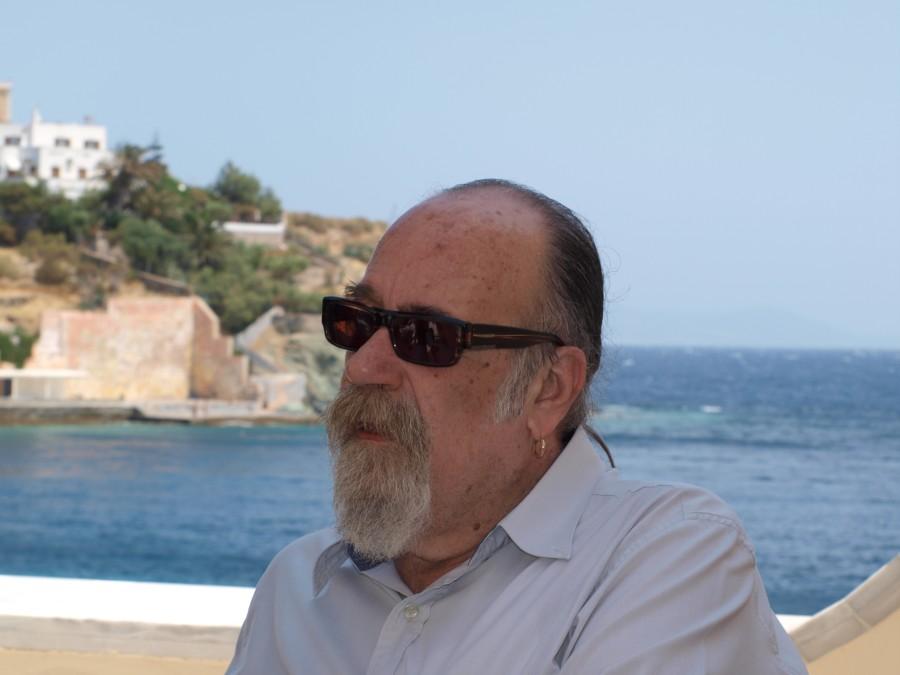 O Άγγελος Μαστοράκης στο 6ο Φεστιβάλ ΕΦ Ερμούπολης, 2012 (φωτ. Ν.Α.)